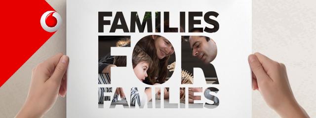 Families for Families: H Vodafone στηρίζει την οικογένεια με κάθε ευκαιρία