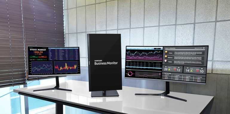 IFA 2017: Η Samsung Electronics θα παρουσιάσει τρία νέα επαγγελματικά monitors