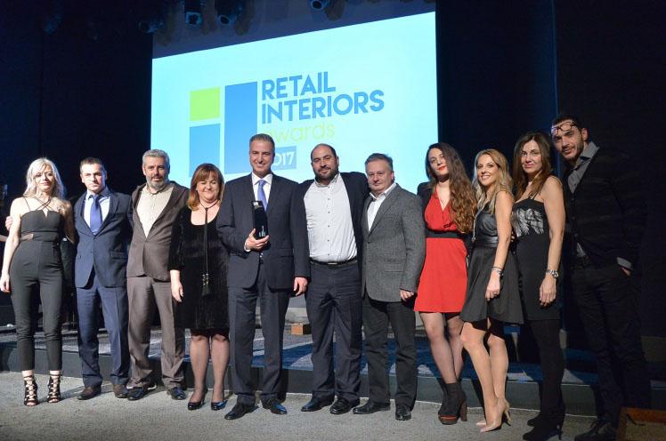 Τριπλή διάκριση για τα καταστήματα ΓΕΡΜΑΝΟΣ στα Retail Interiors Awards