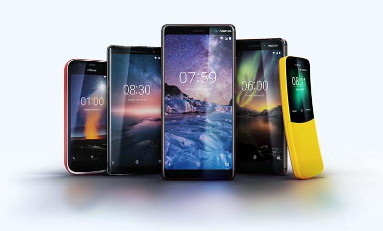 HMD Global: Πέντε νέα κινητά Nokia στην έκθεση MWC 2018
