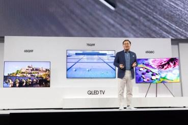 Η Samsung παρουσίασε τη νέα σειρά Home Entertainment 2018
