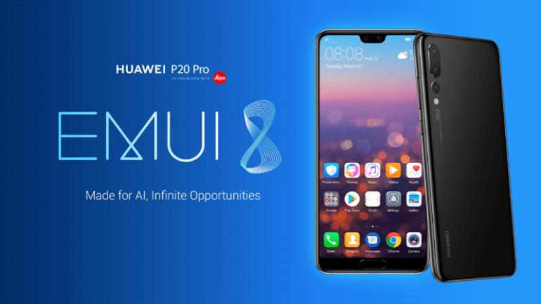 Το νέο EMUI 8.1 των Huawei P20 και P20 Pro