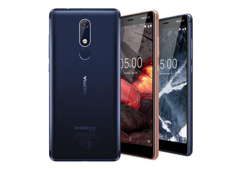 Ανακοινώθηκαν επίσημα τα Nokia 5.1, Nokia 3.1 και το μικρότερο Nokia 2.1