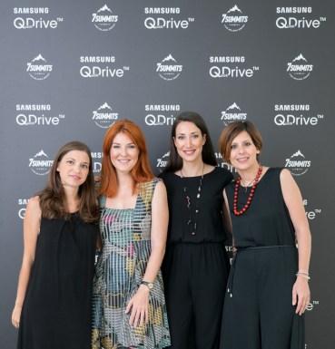 Το Samsung QuickDrive™ στηρίζει τις πρώτες Ελληνίδες που φιλοδοξούν να ανέβουν τις 7 υψηλότερες κορυφές του πλανήτη