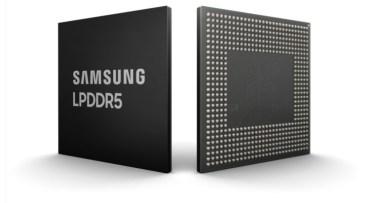 Η Samsung ανακοίνωσε LPDDR5 μνήμη RAM για Smartphones στα 8 GB