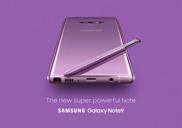 Επίσημη παρουσίαση του Galaxy Note 9 από τη Samsung