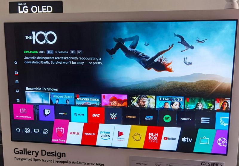 "OLED GX TV 65"""