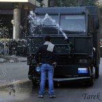 Egitto: Tarek Wajeh contro gli idranti
