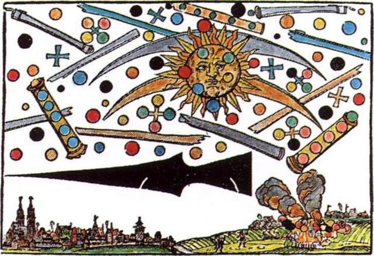 1561 UFO 'Battle' Over Nuremberg, Germany in5d in 5d