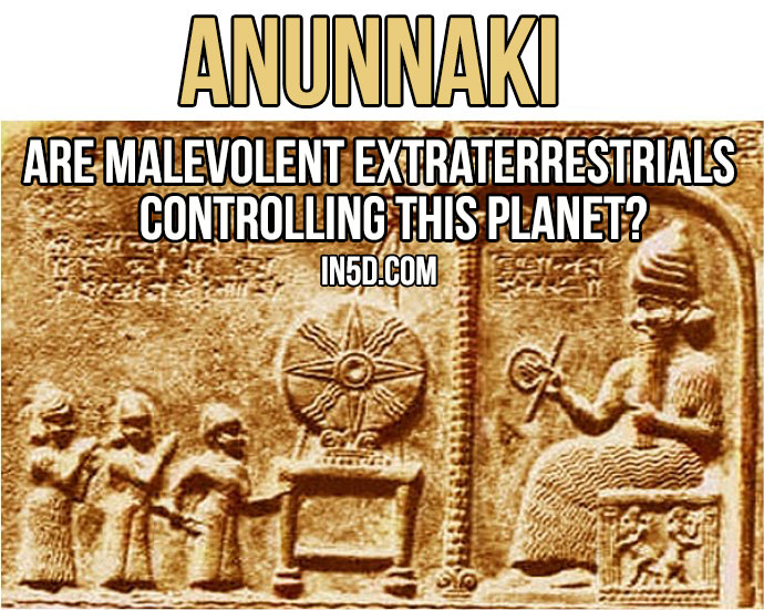 Anunnaki – Are Malevolent Extraterrestrials Controlling This Planet? Anunnaki-overlords-annunaki-lord-enki