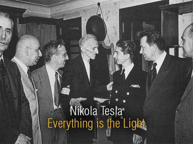 Nikola Tesla - Everything Is The Light – Interview With Nikola Tesla From 1899