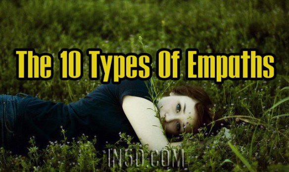 The 10 Types Of Empaths