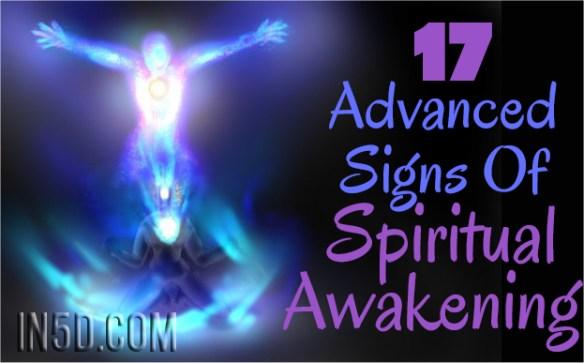 17 Advanced Signs Of Spiritual Awakening