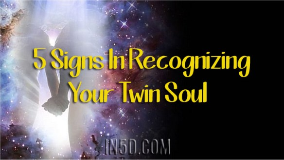 5 Signs In Recognizing Your Twin Soul