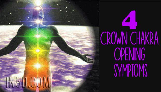 4 Crown Chakra Opening Symptoms