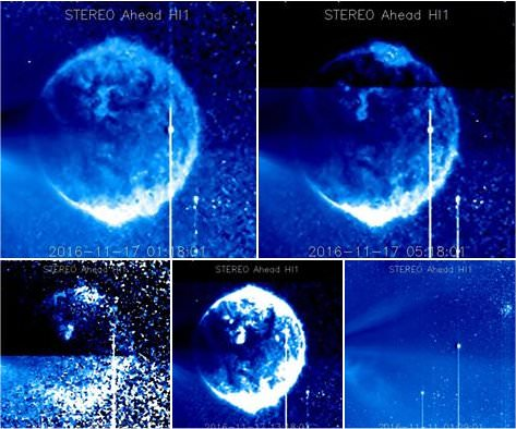 Massive Object Caught On Satellite Imagery - Is This The New Earth Being Born?