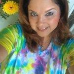 Another Happy In5D Tie Dye Customer - Looking Amazing, Carol!