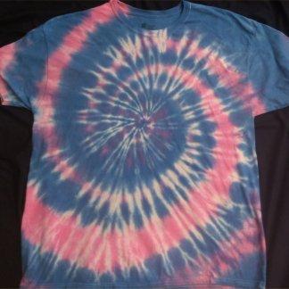 Cotton Candy Tie Dye T Shirt Size XL