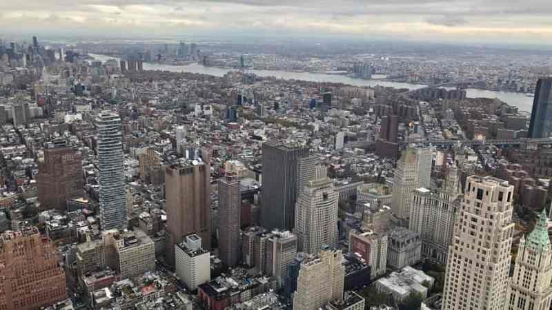Luft holen vor dem New York Marathon 2018