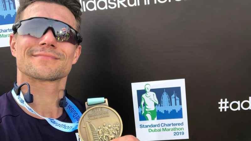 Dubai Marathon 2019: Läufer zweiter Klasse