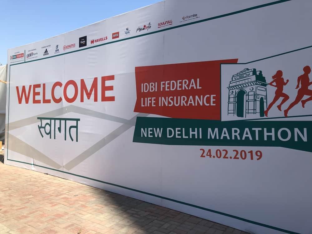 Mit festen Waden zum Neu Delhi Marathon