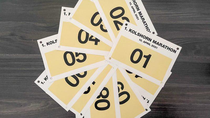 Kolshorn Marathon 2021: Streckenverlauf