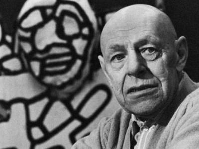 Jean Dubuffet. Photo: Courtesy of Pelham