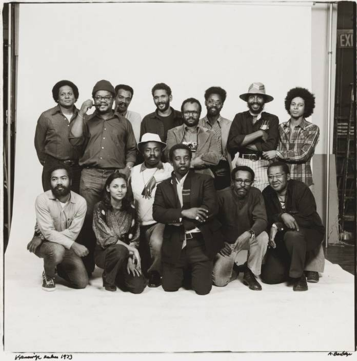 Anthony Barboza, Kamoinge Members (1973). Courtesy of the Whitney Museum of Art. © Anthony Barboza