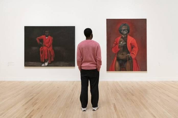 Lynette Yiadom-Boakye: Fly In League With The Night. Photo: Tate
