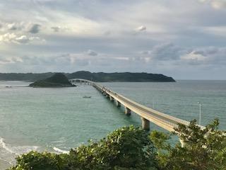 角島大橋展望台から