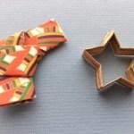 折り紙と千代紙で作った箸置き