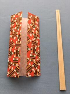 折り紙の箸置きの作り方①