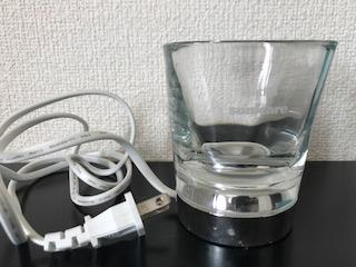 ダイヤモンドクリーンの充電グラス