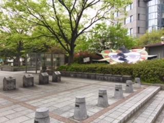 豊津公園入口①