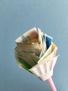 紙皿で作る花びら