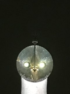 太陽の塔 夜の黄金の顔