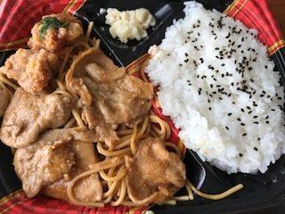 ドンキホーテの200円弁当 生姜焼き弁当