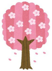 春の工作桜