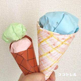 アイスクリーム工作⑥