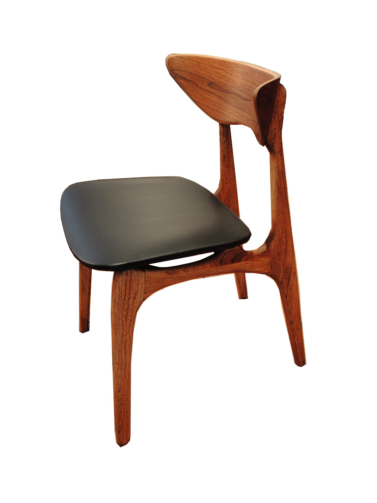 8 Walnut Dining Chairs SOLD  INabstracto