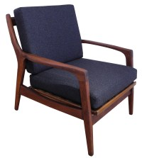 Solid Teak Mid Century Lounge Chair: SOLD
