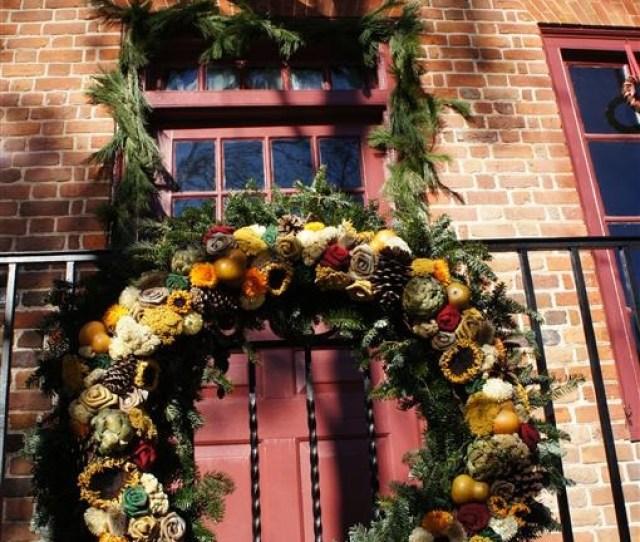 Colonial Williamsburg Wreath
