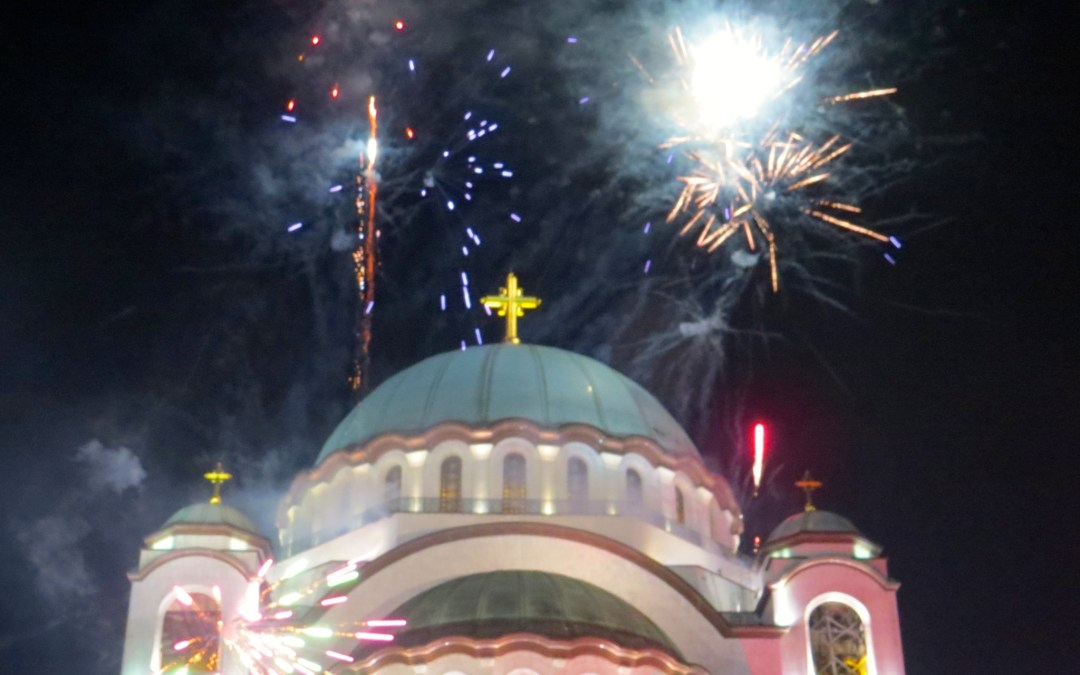 Serbian Orthodox New Year in Belgrade