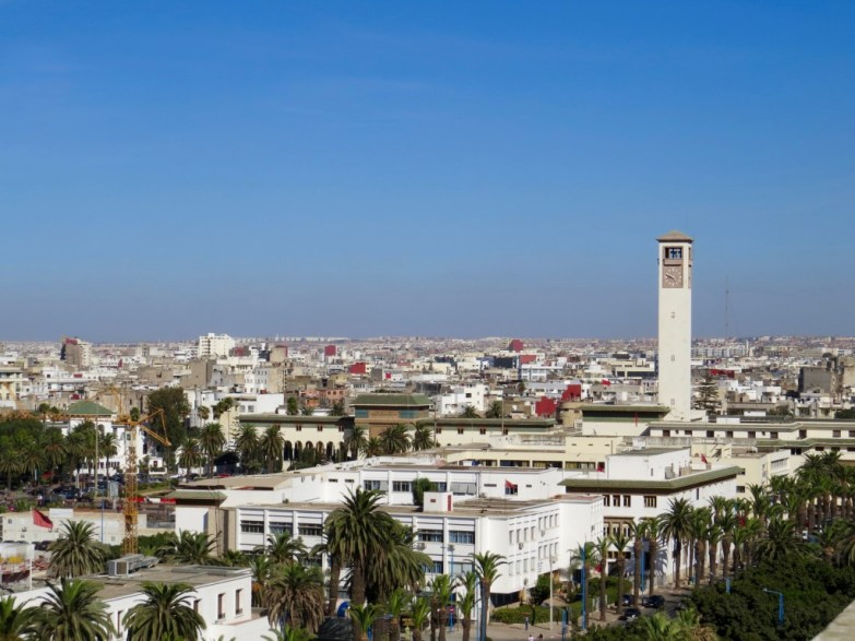 View from Sacré Coeur Cathedral, Casablanca, Morocco
