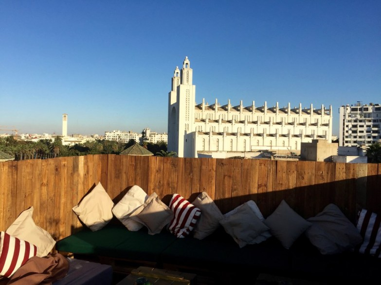 View from The James Rooftop, Casablanca