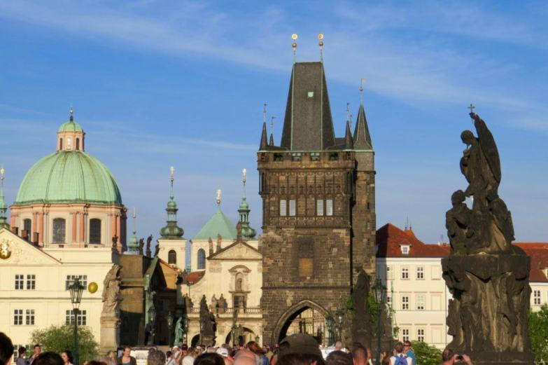 Charles Bridge is Prague's main attraction.