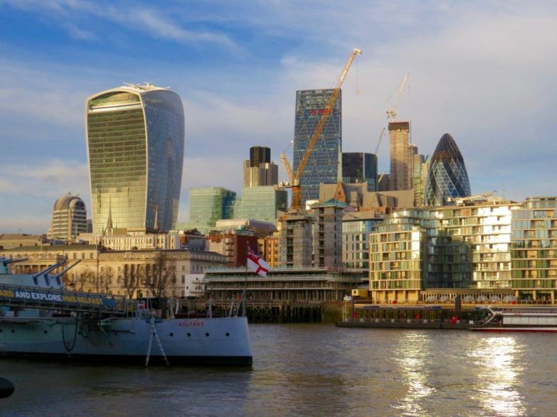 The City of London has some of London's most iconic buildings!