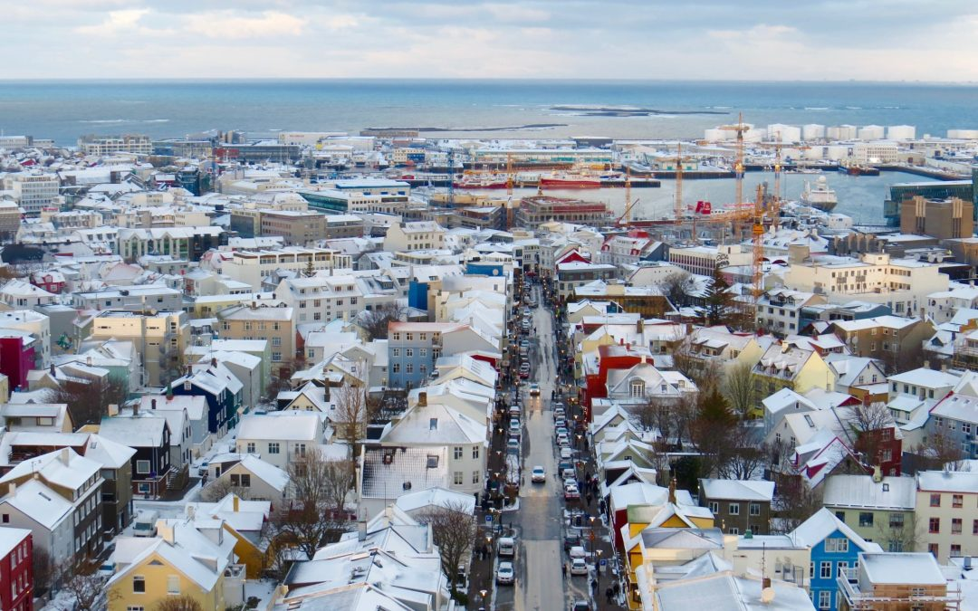 A Photo Journey Through Reykjavik Under The Snow