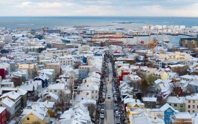 A Photo Journey Through Reykjavik Under The Snow