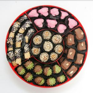 Candy Tray Ina Cookies Coklat